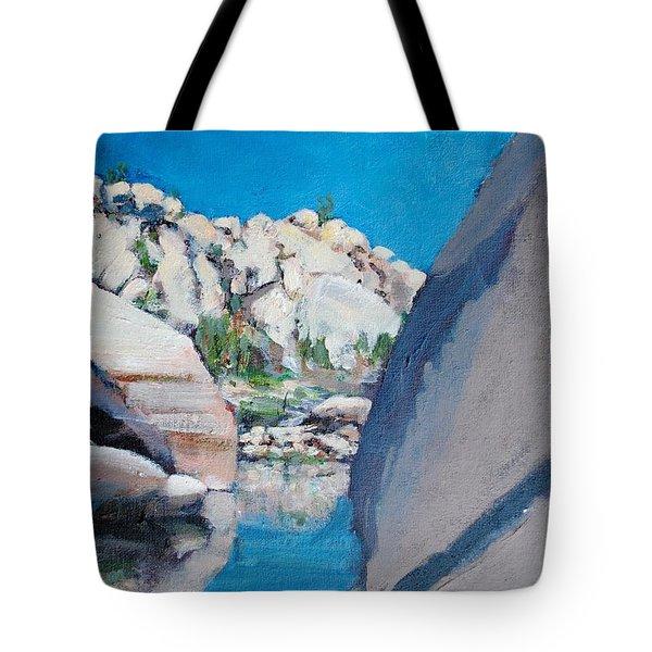 Barker Dam Tote Bag