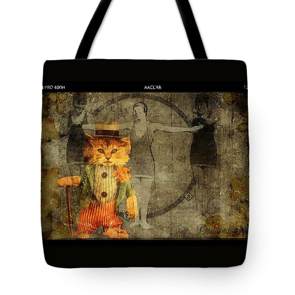 Tote Bag featuring the digital art Barker by Delight Worthyn