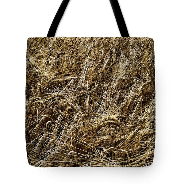 Tote Bag featuring the photograph Barley by RKAB Works