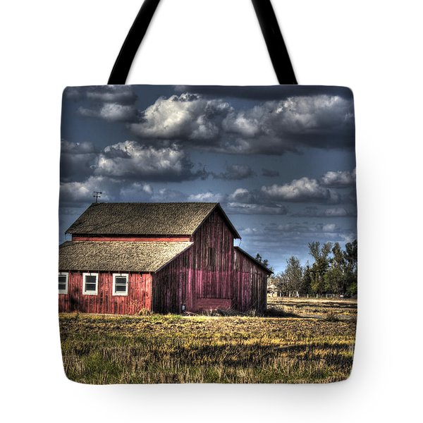 Barn After Storm Tote Bag