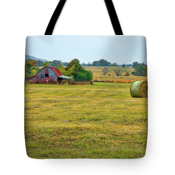 Barn And Field Tote Bag