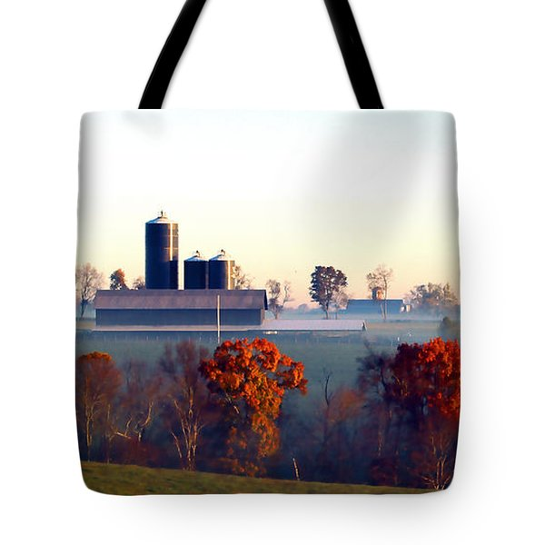 Barn And Silo 3 Tote Bag