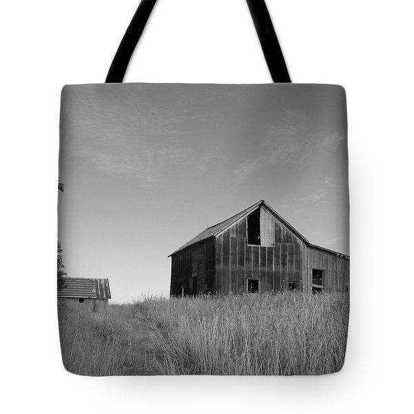Barn And Windmill II Tote Bag