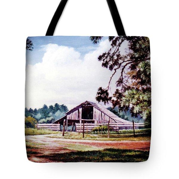 Barn At Honey Island Tote Bag