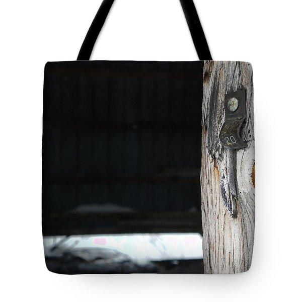 Barn Beam Tote Bag