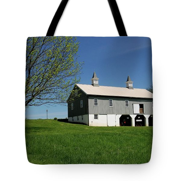Barn In The Country - Bayonet Farm Tote Bag