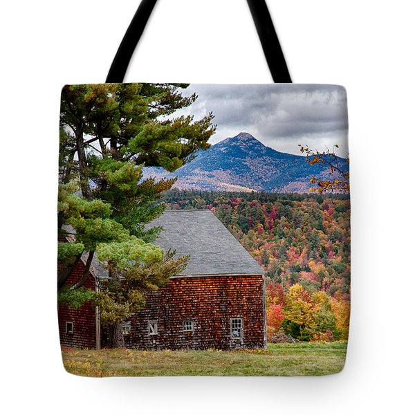 Tote Bag featuring the photograph Barn Number Three by Jeff Folger