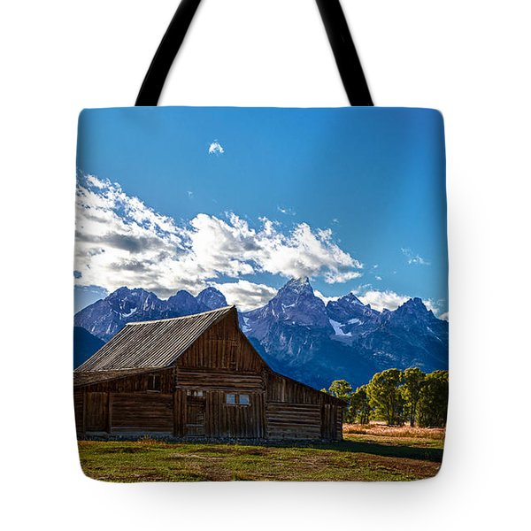 Barn On Mormon Row Tote Bag