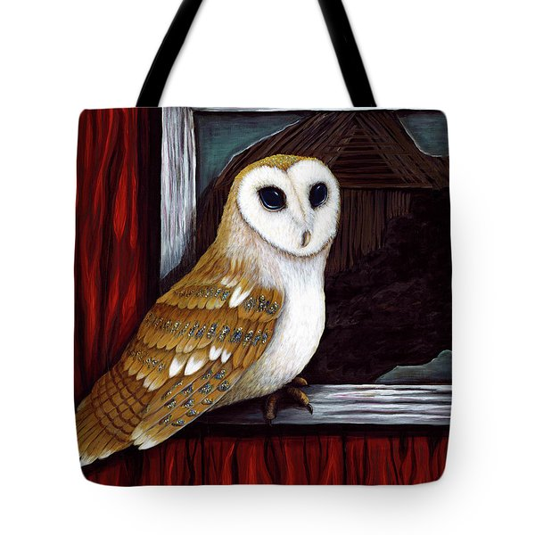 Barn Owl Beauty Tote Bag