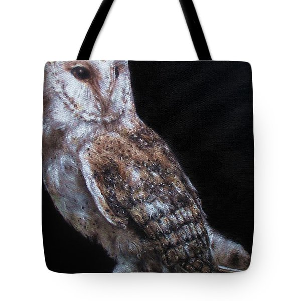Barn Owl Tote Bag by Cherise Foster