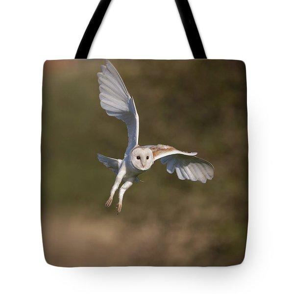 Barn Owl Cornering Tote Bag