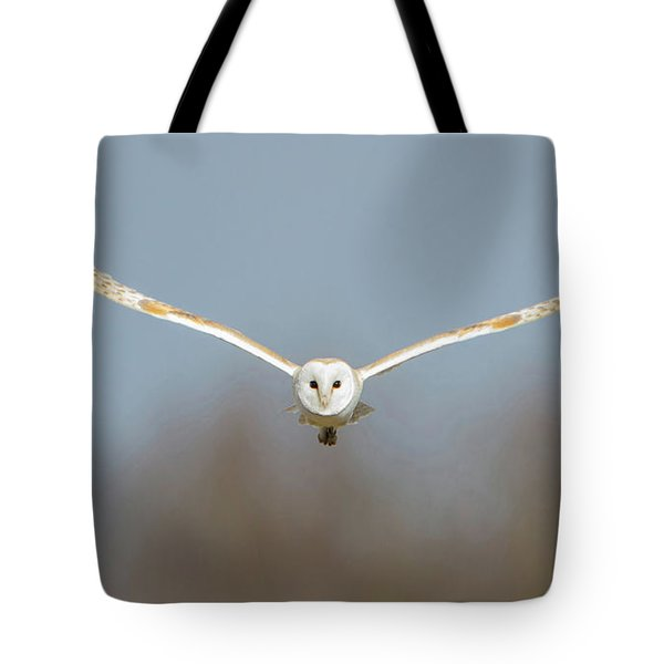 Barn Owl Sculthorpe Moor Tote Bag