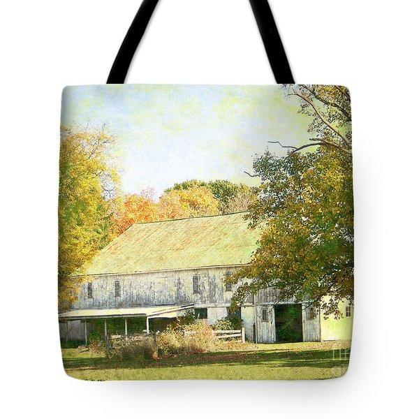 Barn Still Standing Tote Bag