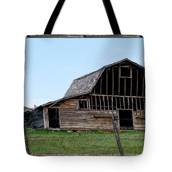 Tote Bag featuring the photograph Barn by Susan Kinney