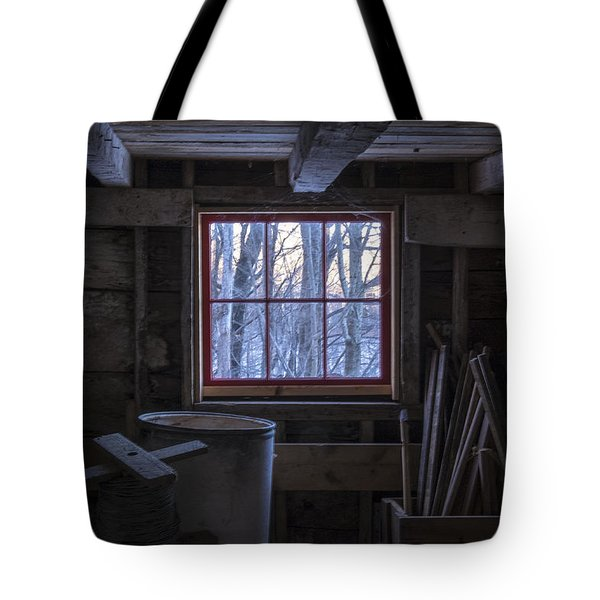Barn Window II Tote Bag