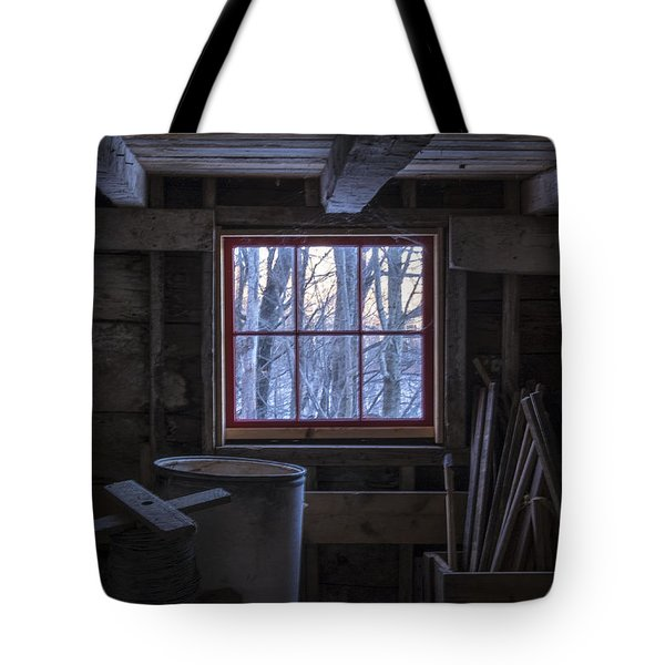Barn Window II Tote Bag