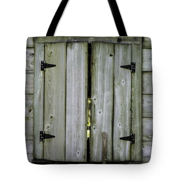 Barn Window, In Color Tote Bag