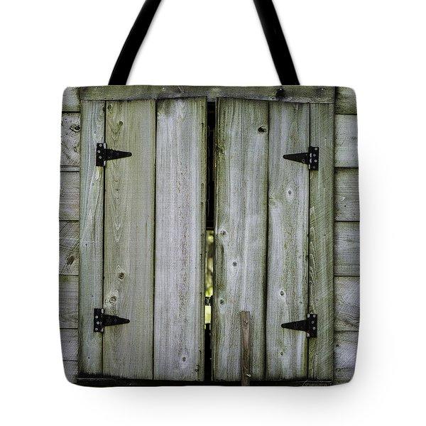 Barn Window, In Color Tote Bag