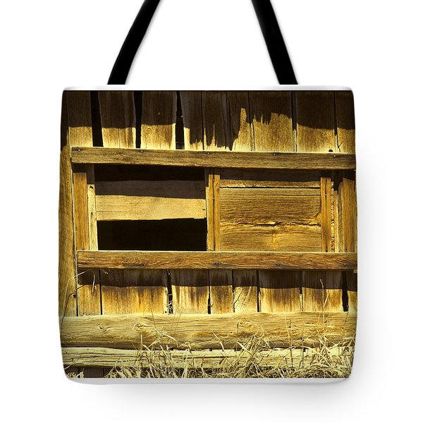 Barn Window Tote Bag by R Thomas Berner