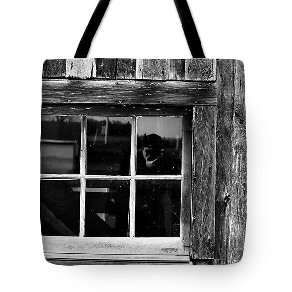 Barn Window Tote Bag