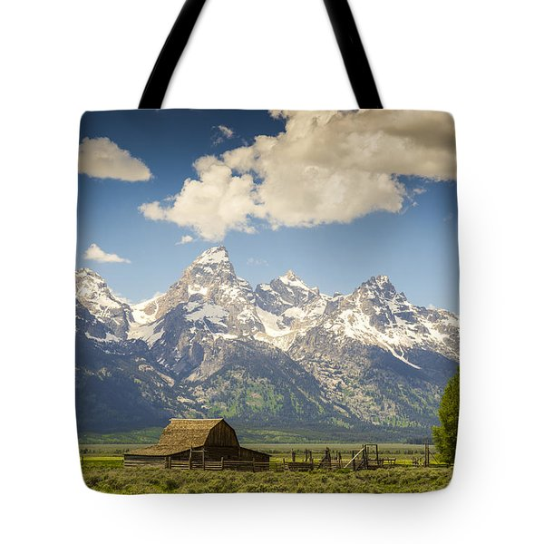 Barn With A View Tote Bag