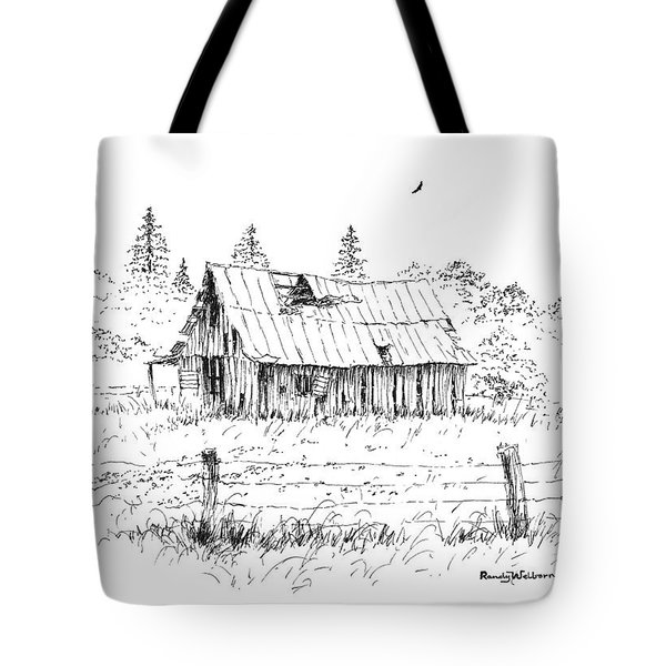 Barn With Skylight Tote Bag
