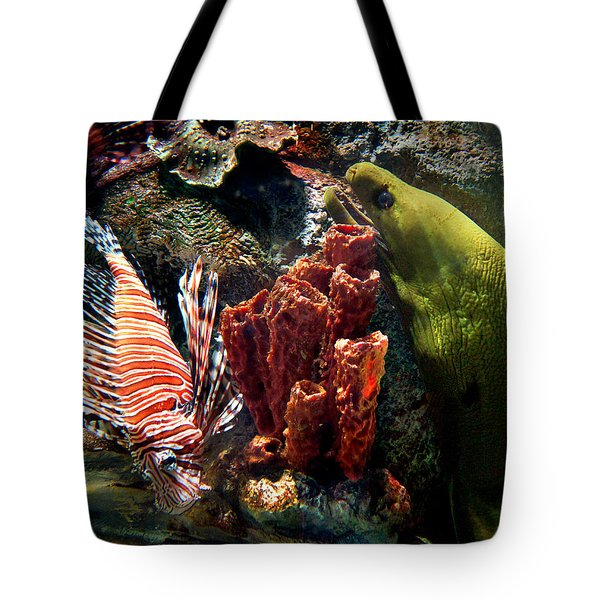 Barnacle Buddies Tote Bag by Bill Pevlor