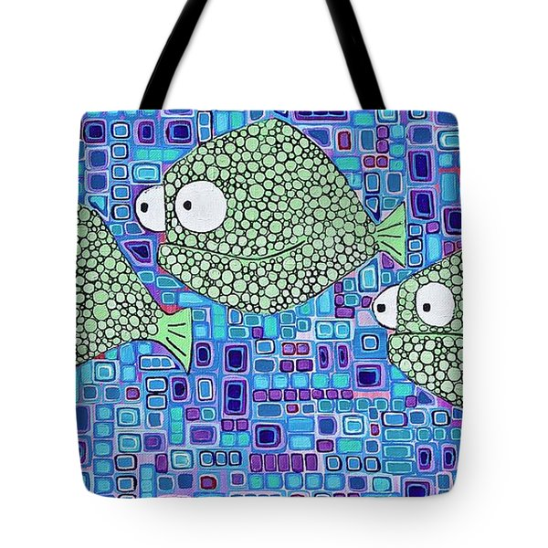 Barnacle Fish Tote Bag