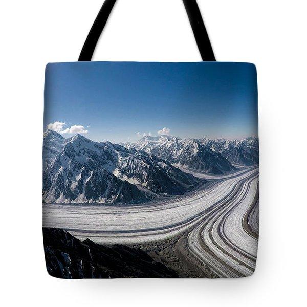 Barnard Glacier Alaska Tote Bag