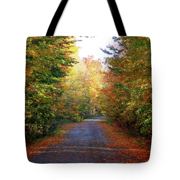 Barnes Road - Cropped Tote Bag