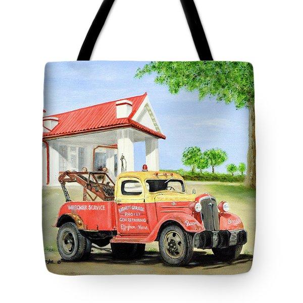 Barnett Garage Tote Bag