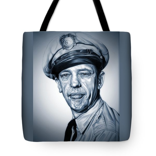 Barney Fife Tote Bag by Fred Larucci