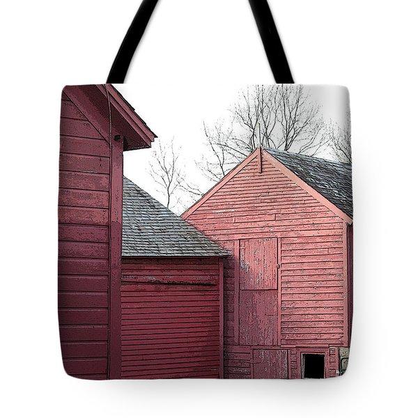 Barns Tote Bag