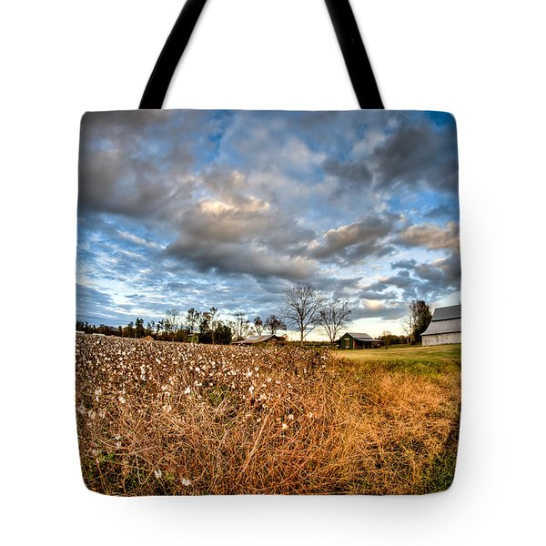 Barns And Cotton Tote Bag