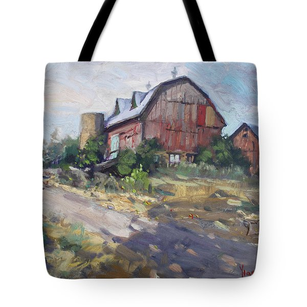Barns In Georgetown Tote Bag