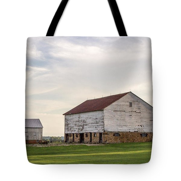 Barns In Iowa Tote Bag