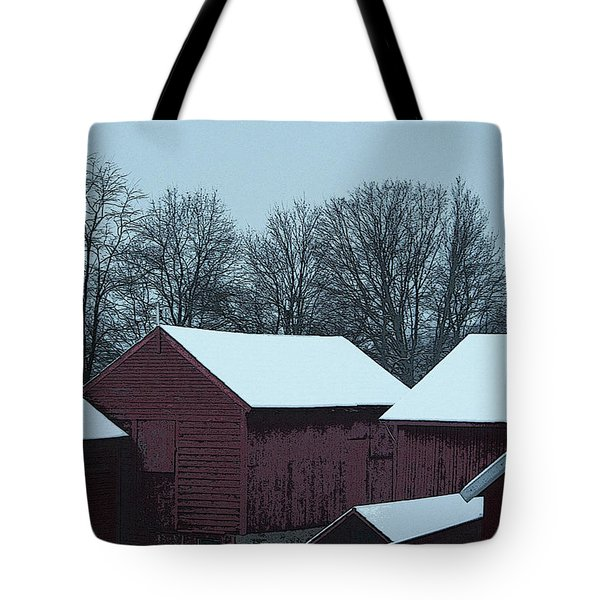 Barnscape Tote Bag