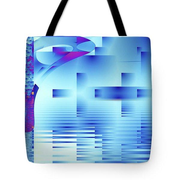 Barnsley Blue Tote Bag