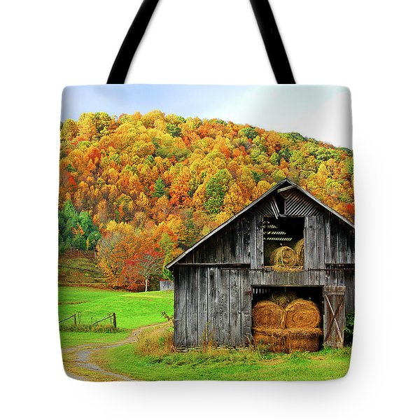 Barntifull Tote Bag by Dale R Carlson