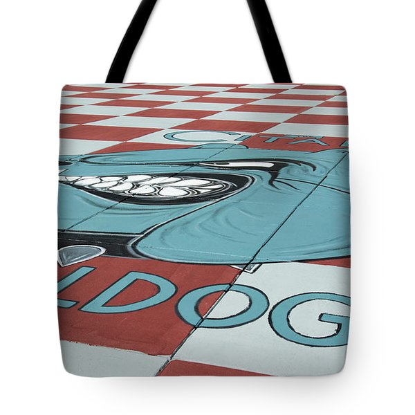 Barracks Bulldog Tote Bag