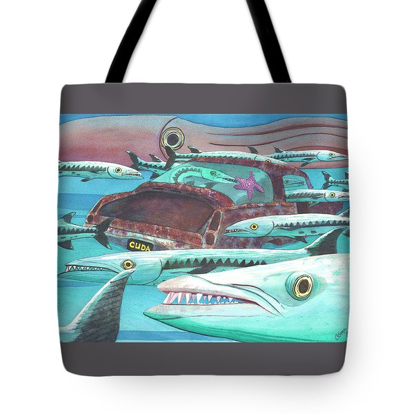 Barracuda Tote Bag