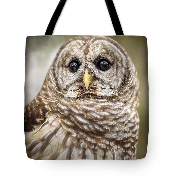 Tote Bag featuring the photograph Hoot by Steven Sparks