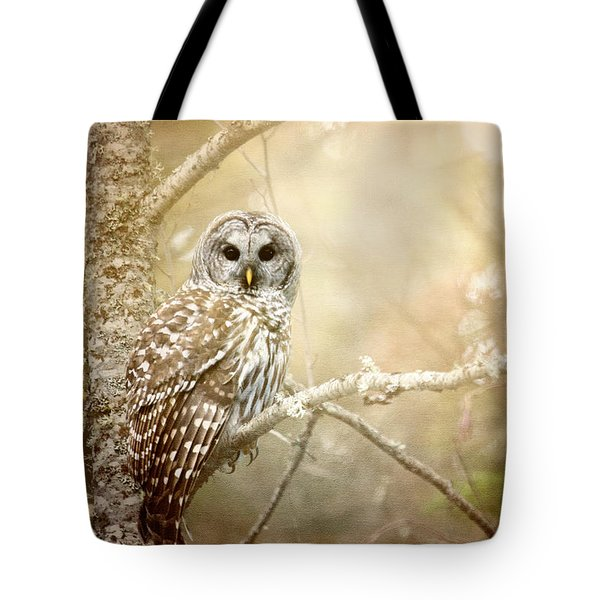 Barred Owl - Woodland Fellow Tote Bag