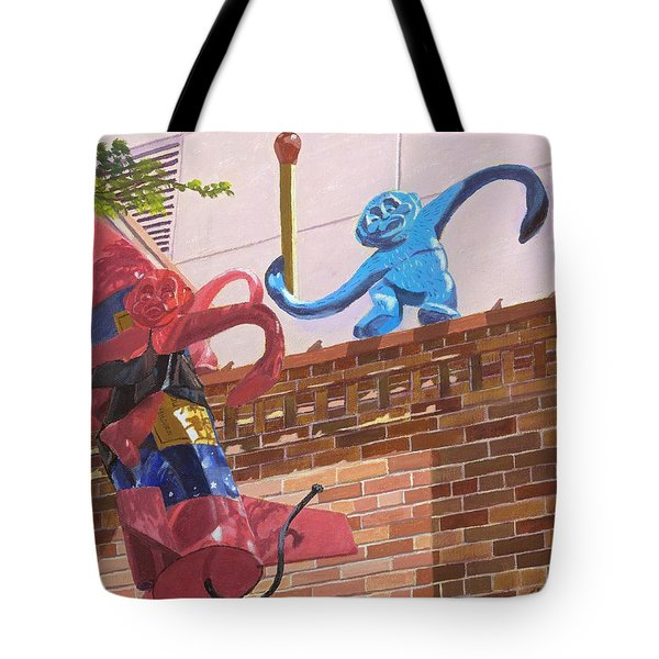 Barrel Of Fun Tote Bag