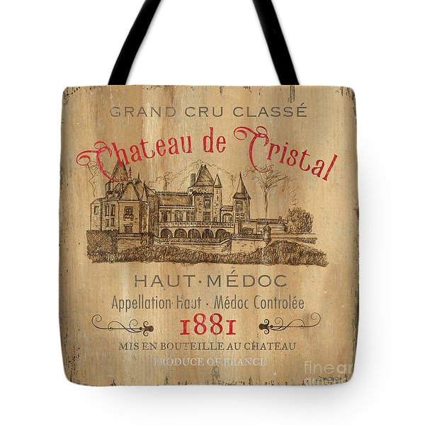 Barrel Wine Label 1 Tote Bag