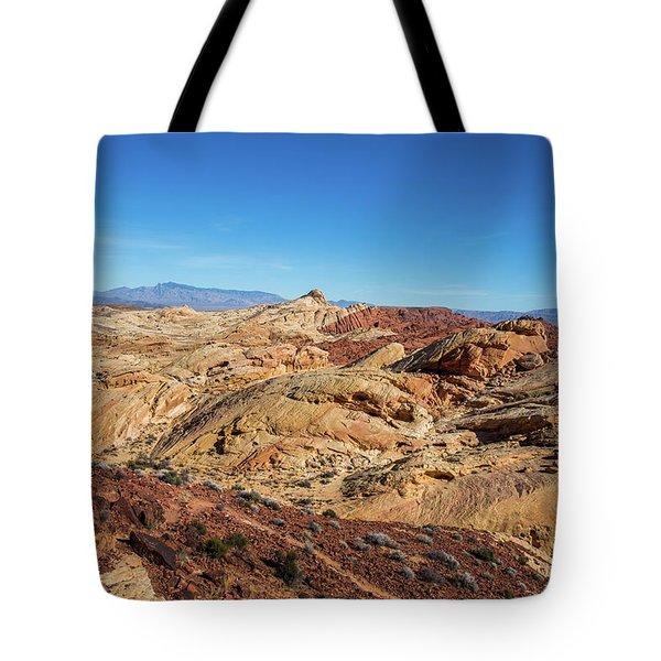 Barren Desert Tote Bag