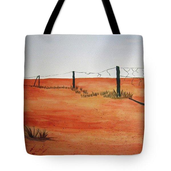 Barren Land Tote Bag