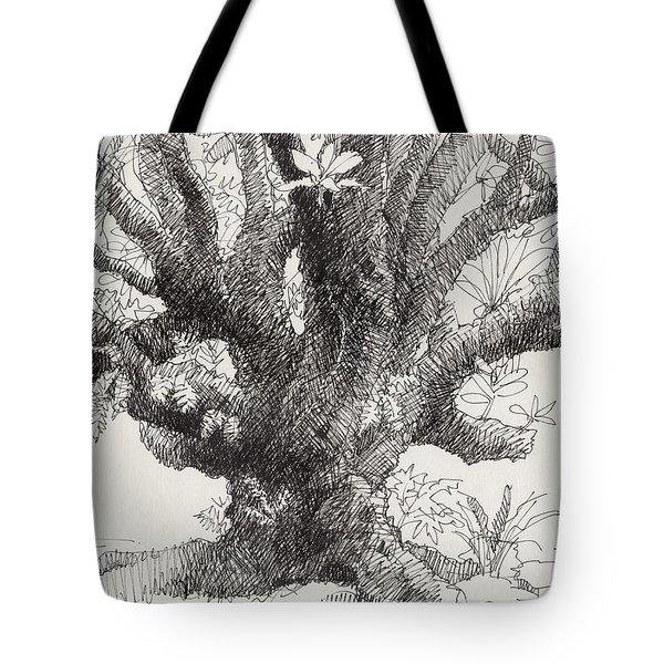 Barringtonia Tree Tote Bag