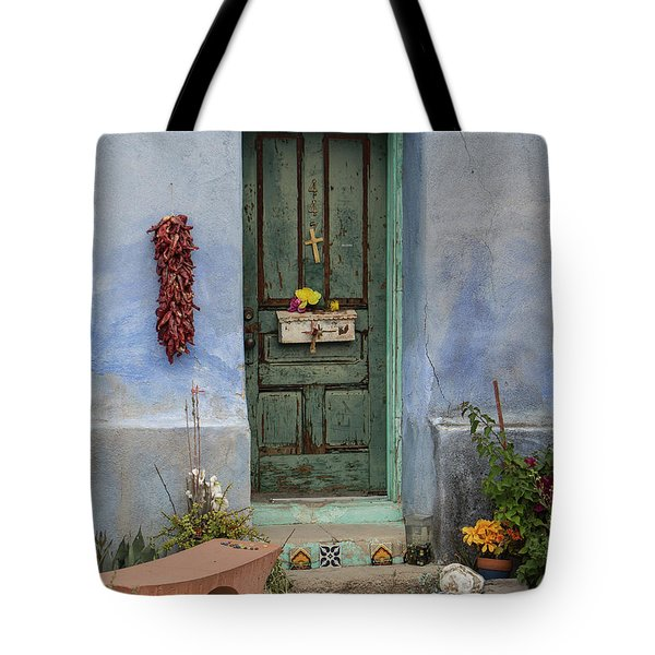 Barrio Door Tote Bag