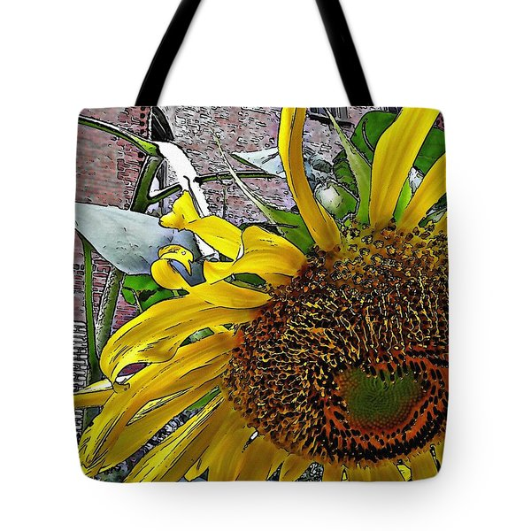Barrio Sunflower 3 Tote Bag
